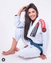 Kimono Feminino Jiu Jitsu Koral MKM Branco