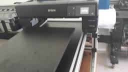 Impressora de camisa dtg epson p800 adapatada