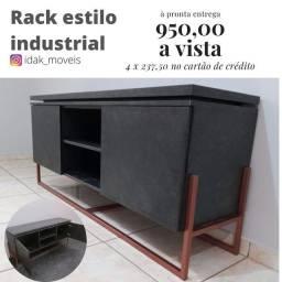 Rack estilo industrial