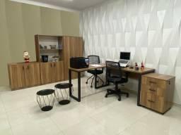 Armário de escritório gaveteiro mesa