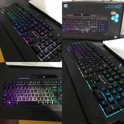 Teclado RGB fortrek K1