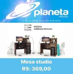 Título do anúncio: Mesa Studio com Gaveta