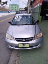 Honda Civic LX 1.7 2005 Manual Completo