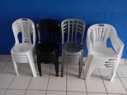 Cadeiras Avulsas Mor e Goiania Plast Novas