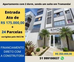 Apartamento em Tramandaí - Entrada 50% + 24 parcelas (INCC)