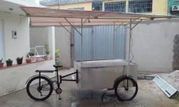 triciclo movel para lanches