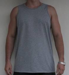 Camiseta Regata Lisa sem Estampa Tam: M, G, GG, XG, XG2, XG3