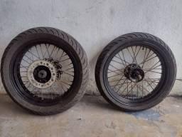 Rodas motard da Lander x