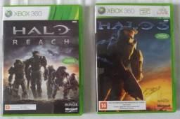 Halo 3 e Halo Reach X360/Xbox Oxe (Retro compatível)
