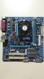 Placa mãe Am3 + processador + 4GB ddr3