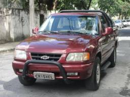 CHEVROLET S10 1995/1996 2.2 EFI DLX 4X2 CS 8V GASOLINA 2P MANUAL - 1996