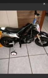Troco mini moto a gasolina 50cc por play 4