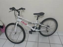 Bicicleta Caloi Ceci Original Semi Nova aro 24 21 marchas