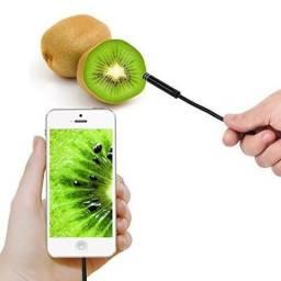 Câmera Endoscópica Wifi E Cabo 5 metros Iphone Ipad
