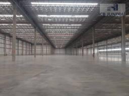Galpão industrial para locação, centro, cajamar.