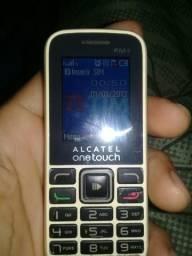 Vendo celular Alcatel lanterninha
