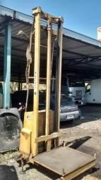 Elevador hidráulico manual empilhadeira
