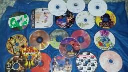 Vendo 20 jogos sendo dois originais( Tekken 2 e Formula um ,,,.jogos para colecionador