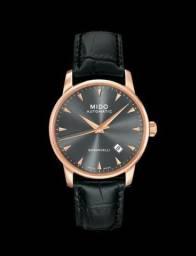 d1f0009b876 Relógio Mido Baroncelli M8600.3.13.4 Automatico 38mm - Novo com Caixa e  Manuais