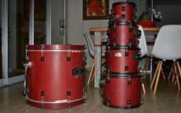 Bateria RMV Road Up Vermelha 3 tons (década 2000) Madeira TOP (Shell Pack)