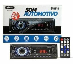 Mp3 Player Automotivo Bluetooth, Usb, Sd, Rádio