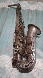 Sax Alto Yamaha 62 Prata - Original