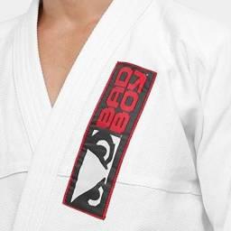 Kimono Jiu Jitsu Bad Boy Trançado Leve