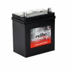 Título do anúncio: Bateria Reifor 40 amperes c /bateria velha Honda Fit City Kia Picanto Accord Civic CR-V
