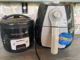 Sucata de panela Air Fryer e Panela elétrica para arroz