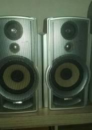 Jogo de caixas de som