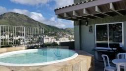 Excelente cobertura duplex Panorâmica - 15 min da Barra