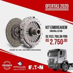KIT EMBREAGEM ORIGINAL EATON VW 24.250/17.250