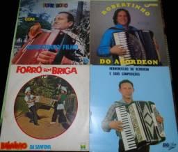 4 Vinil Forró- Sanfona
