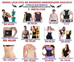 Cintas Modeladoras Femininas e Masculinas. Leia o Anúncio F. 98876.3162