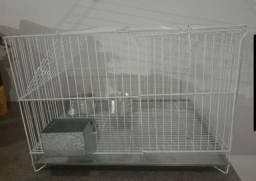 Gaiola para coelhos 80x50