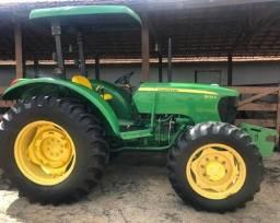 Trator 5075 John Deere 2015 Verde