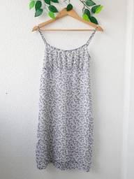 Vestido midi floral - M