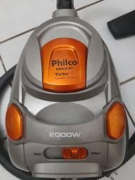 Aspirador de Pó Philco Maxxi Turbo 2000W Cinza