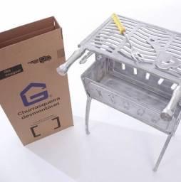 Churrasqueira de alumínio fundido