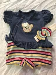 Lote de roupas RN-3 meses