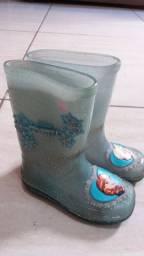 Galocha bota infantil n.23/24 Frozen grandene