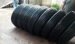 8 pneus 295 recauchutados