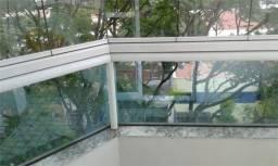 Apartamento à venda com 3 dormitórios em Campo belo, São paulo cod:345-IM399027