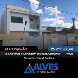 Duplex 3/4 sendo 2 suites na Conceição