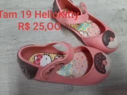 Sapatinho Hello Kitty