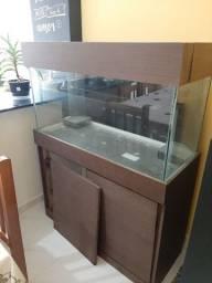 Móvel de aquário 100x40x80