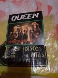Disco do Queen de vinil mini