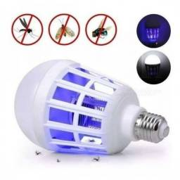 (WhatsApp) lampada led 2 em 1 - mata mosquito - 15w - lan-3011z