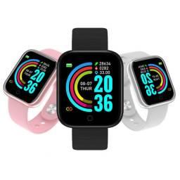Relógio inteligente smartwatch D20 bluetooth