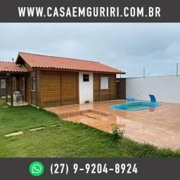 Casa com Piscina + Area de Churrasco + Garagem - Parcelamento c/ Proprietário